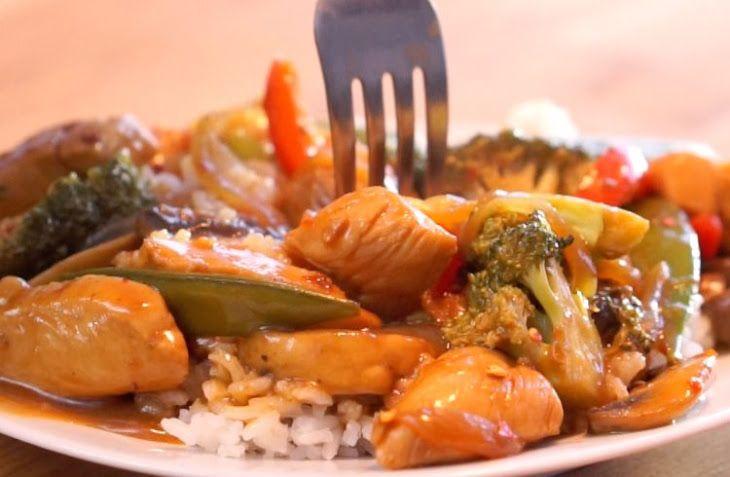 Spicy Chicken Stir Fry Recipe Main Dish Asian Stir Fry