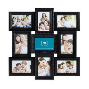 Melannco 9 Opening Multi Profile Collage Picture Frame Collage