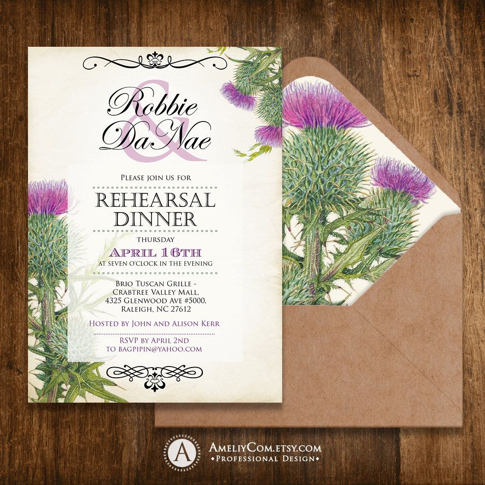 Rehearsal Dinner Invitation Printable Engagement Invite Weddings