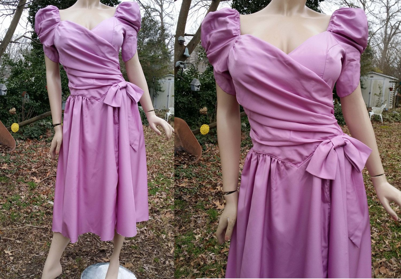 80s Prom Dress/ Vintage Dress / 80s Dress / 80s Bridesmaid Dress ...