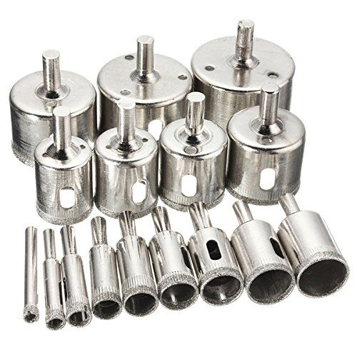 Price Tracking For Toolcool 16pcs 6mm 50mm Diamond Hole Saw Drill Bit Set Tile Ceramic Glass Porcelain Marble Hole Saw Price History Chart And Drop Alerts Fo Drill Bit Sets Drill