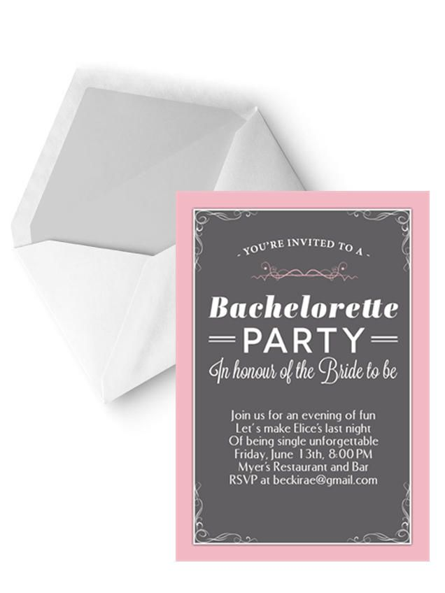 luau wedding invitation templates%0A    DIYable Bachelorette Party Invitation Templates