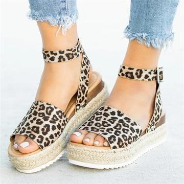 4ec671ab2c Summer Adjustable Buckle Platform Sandals in 2019 | Schuhe ...