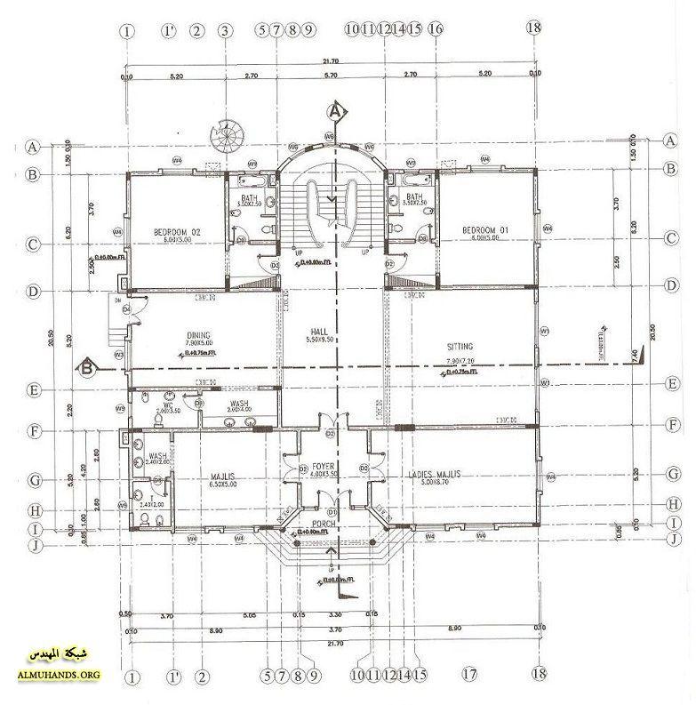 تصاميم معماريه منتديات شبكة المهندس Diagram Floor Plans