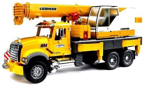 Bruder Mack Granite Liebherr Crane Truck Truck Cranes Liebherr Crane Toy Trucks