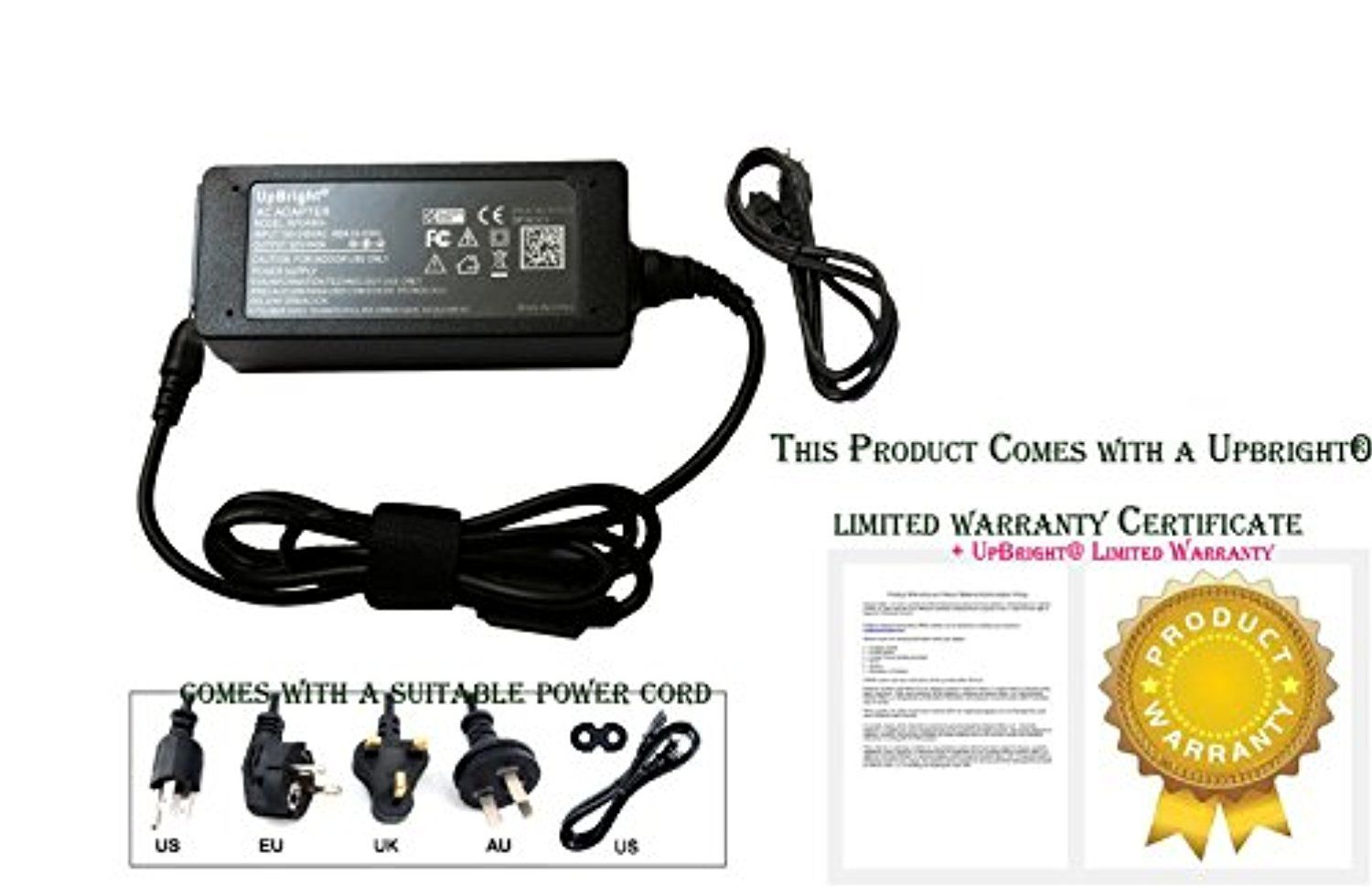 UpBright NEW Global AC / DC Adapter For Brother Model LD1484001 ...