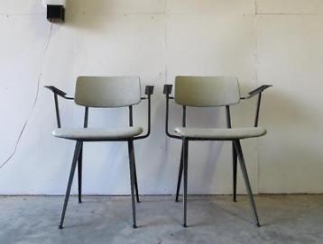 Industriele Vintage Stoelen.Galvanitas Vintage Stoelen Industrieel Retro Furniture In