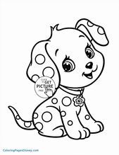 coloring pages for kids from moana   1933 in 2020   puppy