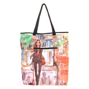 Girl Tote now featured on Fab.
