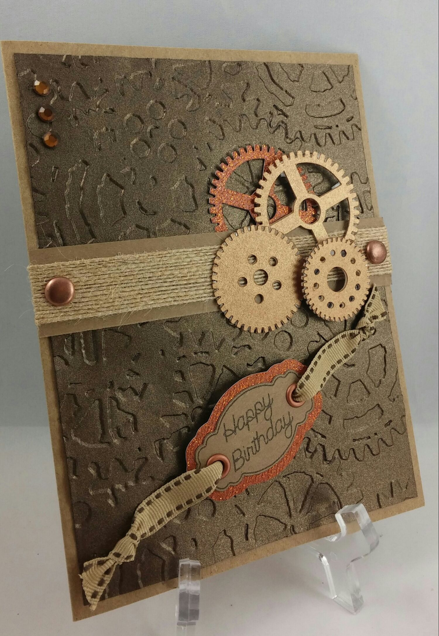 Visit The Post For More Steampunk Cards Embossed Cards Birthday Cards For Men