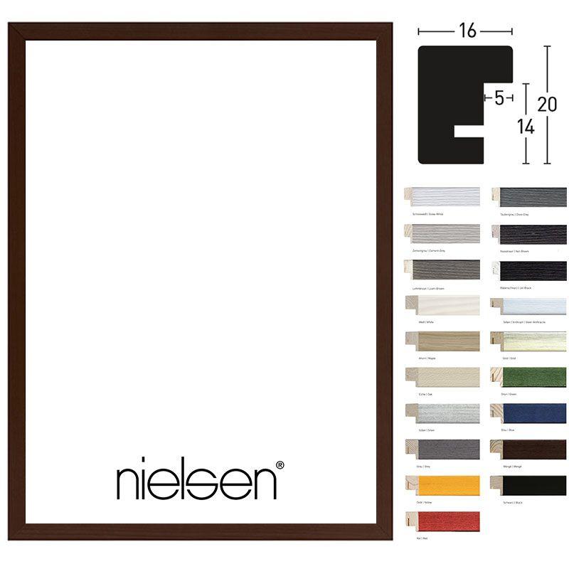 Nielsen Holzrahmen Quadrum 16×25 40×50 Schneewei�