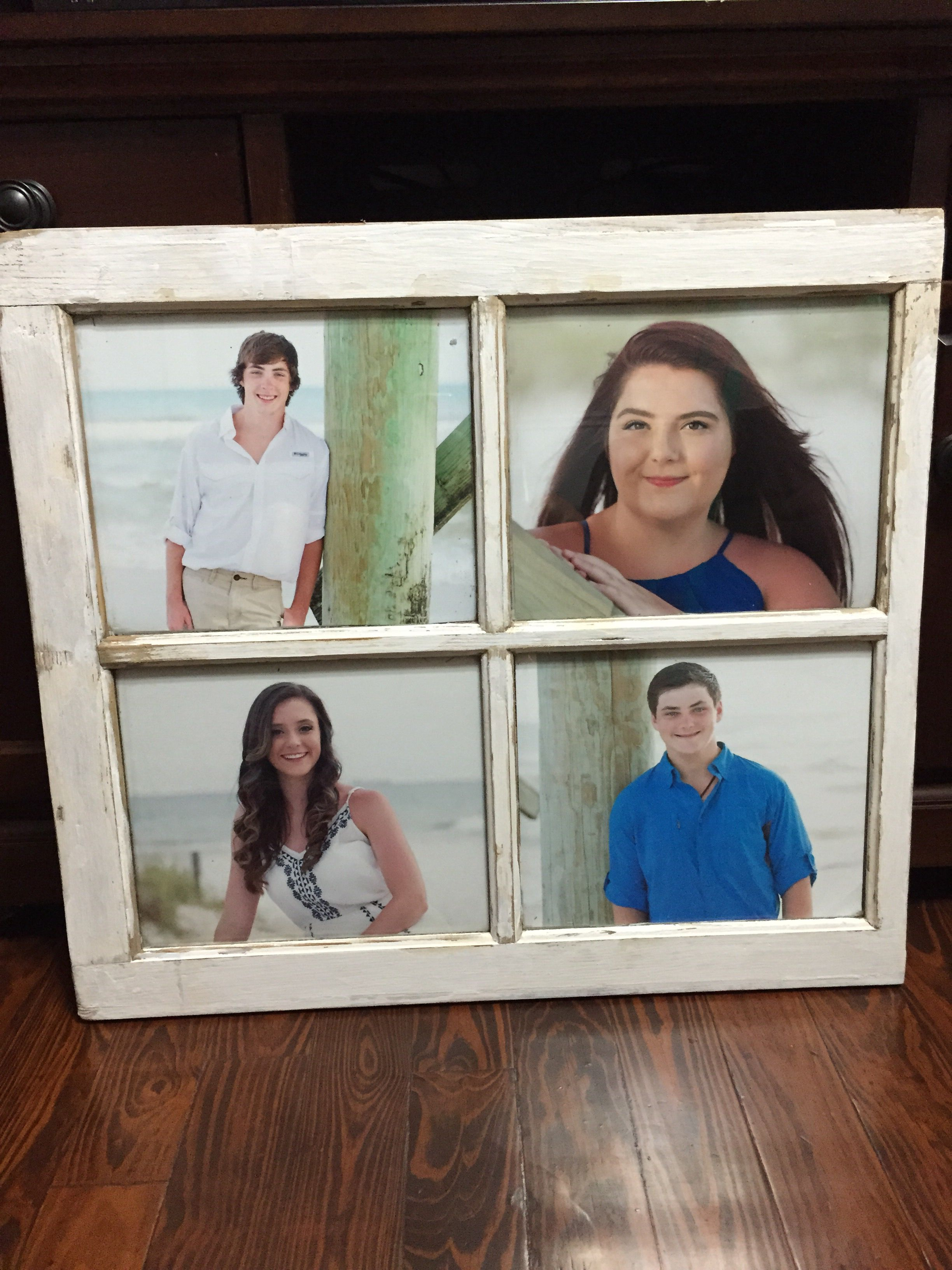 LOVE! my old window picture frame!