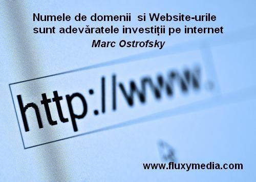 investiții pe site- ul internet