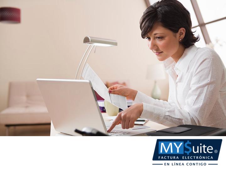 FACTURACIÓN ELECTRÓNICA. MYSuite. Una factura electrónica tiene los mismos efectos legales que una factura en papel. Ésta es una alternativa legal a la facturación tradicional. Le invitamos a ponerse en contacto con nosotros, al teléfono 01 (55) 1208-4940, para que nuestros asesores resuelvan todas sus dudas referentes a nuestros servicios y cómo pueden beneficiar a su empresa o negocio. #MYSuite