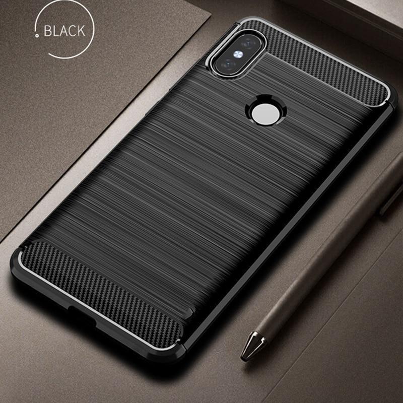 Silicone Case For Xiaomi Mi A2 Case Cover For Xiaomi Mi A2 Lite Case Soft Carbon Bumper Case On Xiaomi Mia2 Lite Redmi 6 Pro Case Case Cover Phone Case Cover