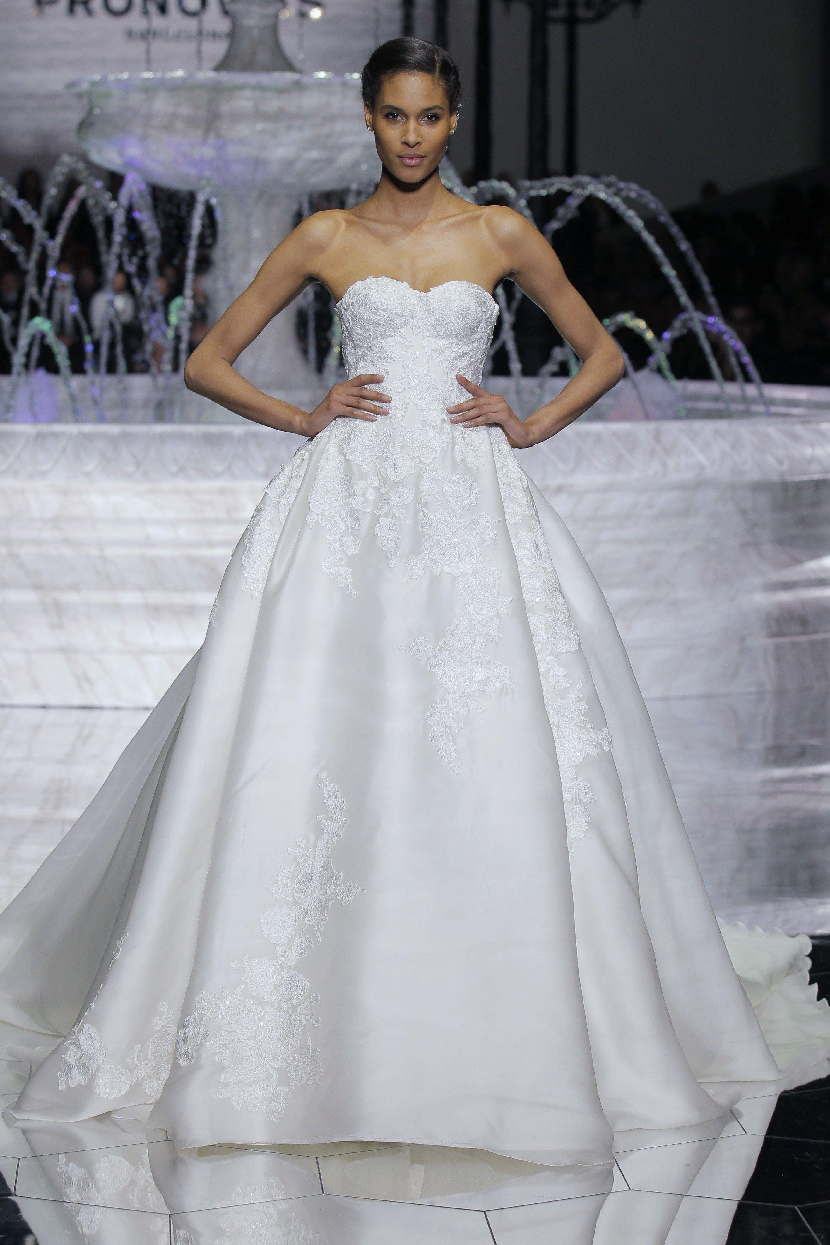 Pronovias wedding dresses bridal spring 2018 brides 2018 pronovias wedding dresses bridal spring 2018 brides ombrellifo Gallery