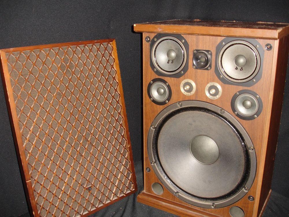 Vintage JVC SK-12A Speaker with 15