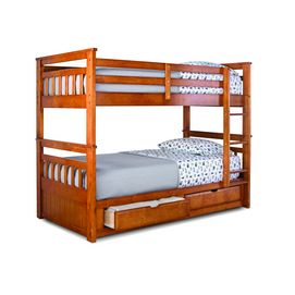 Springsdale Twin Over Twin Storage Bunk Bed Sears Little House