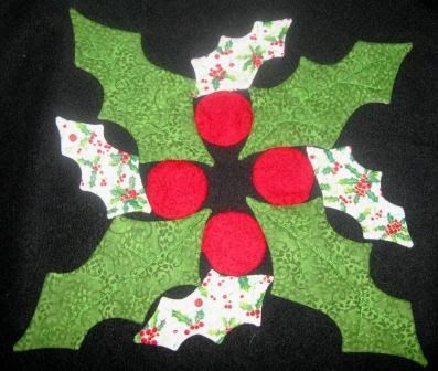 * Sew we Stitch: Comfort and Joy with Denise and her holly and ivy table topper... Bonus 2 Guests today!