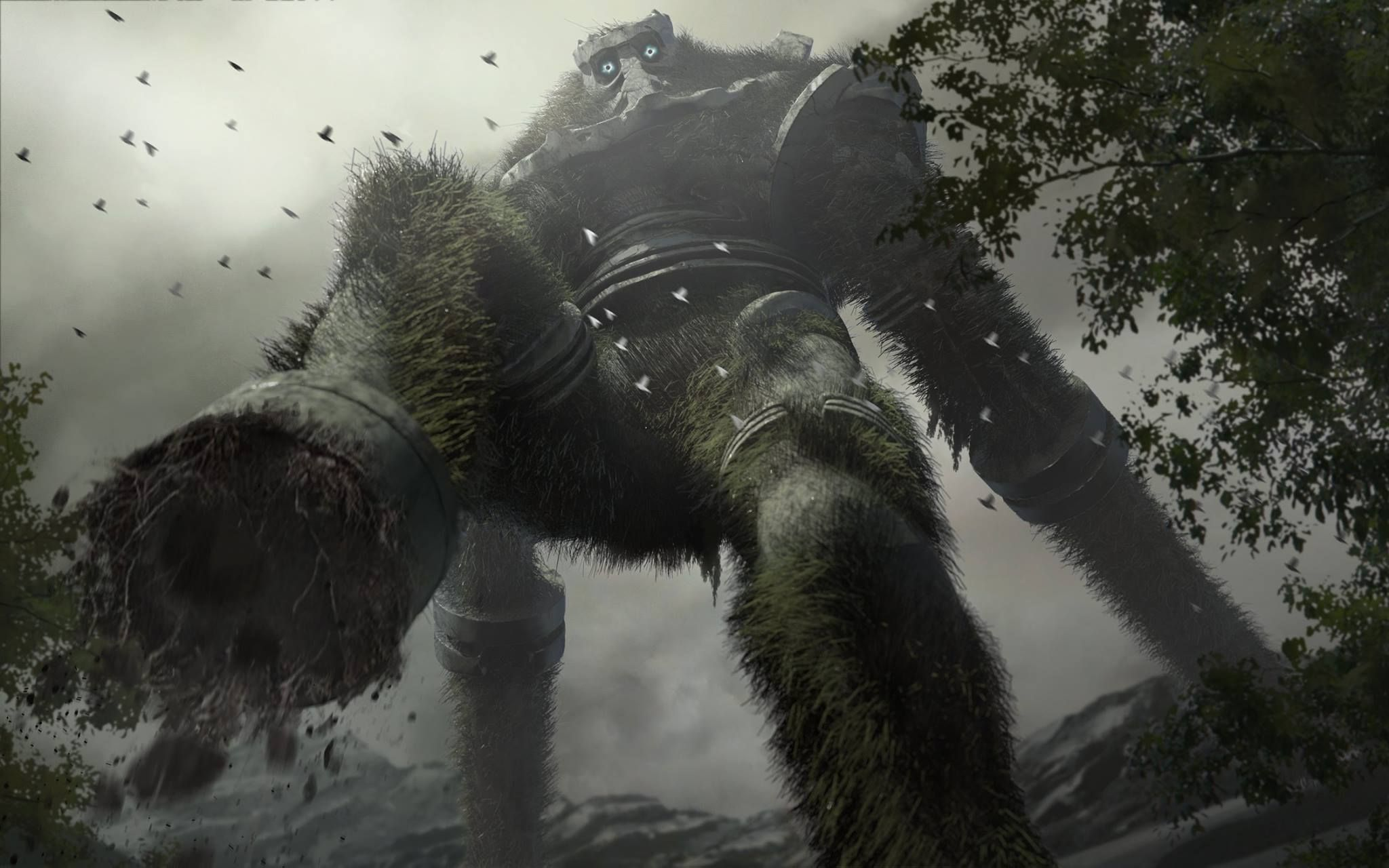 Shadow of the Colossus redesign by Josh Ellem. Link: https://www.facebook.com/photo.php?fbid=848454261942070