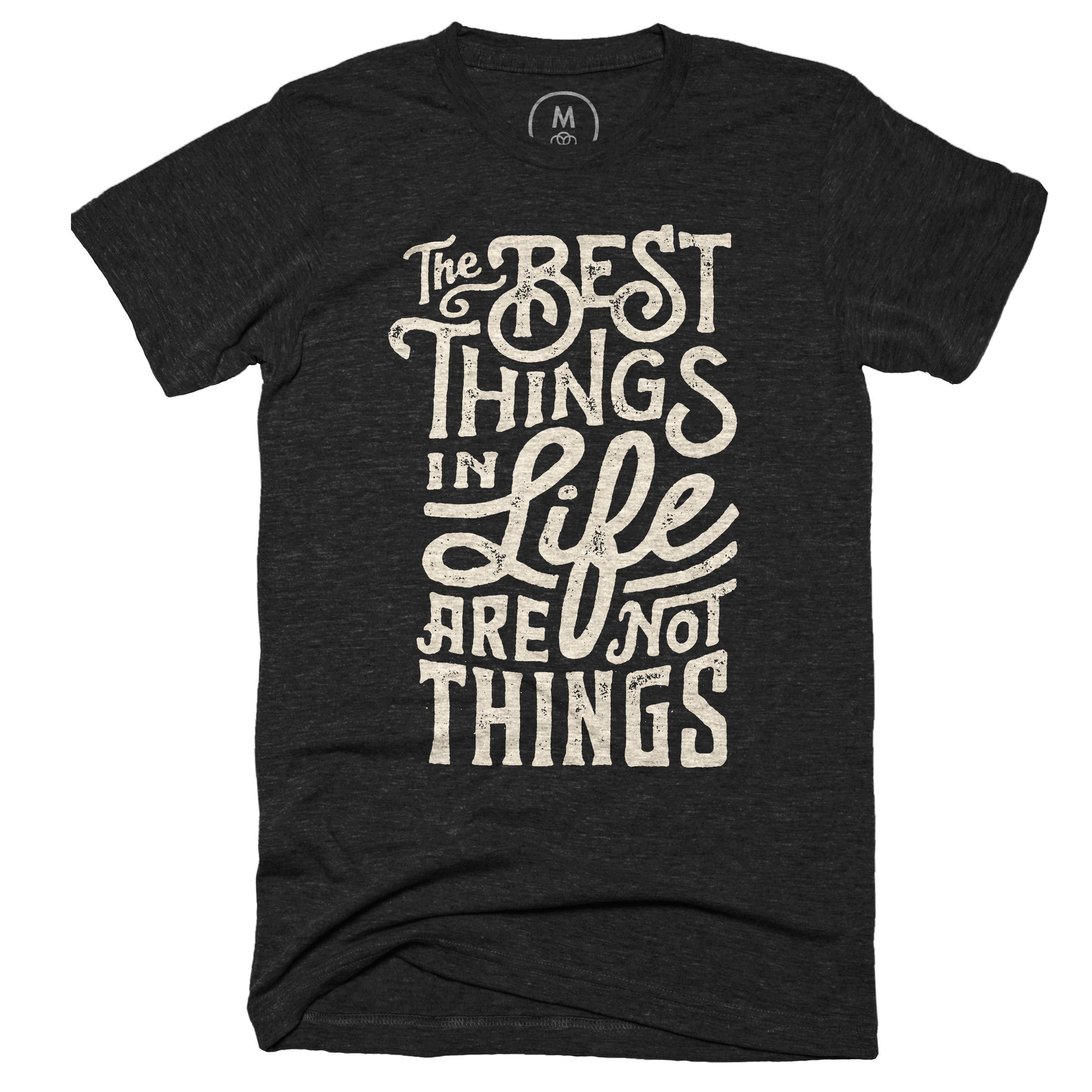 Contoh design t shirt family day -  The Best Things Graphic Designer T Shirt By Wes Allen