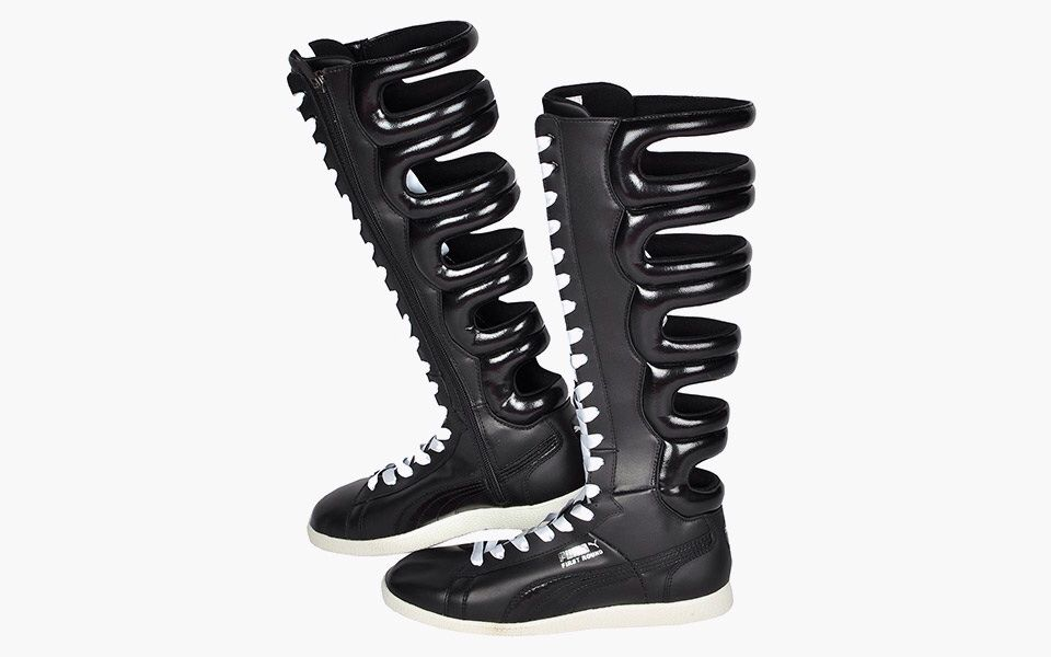43e1396a High snob's top 5 most beautifully ugly sneaker - Puma First Round Boot