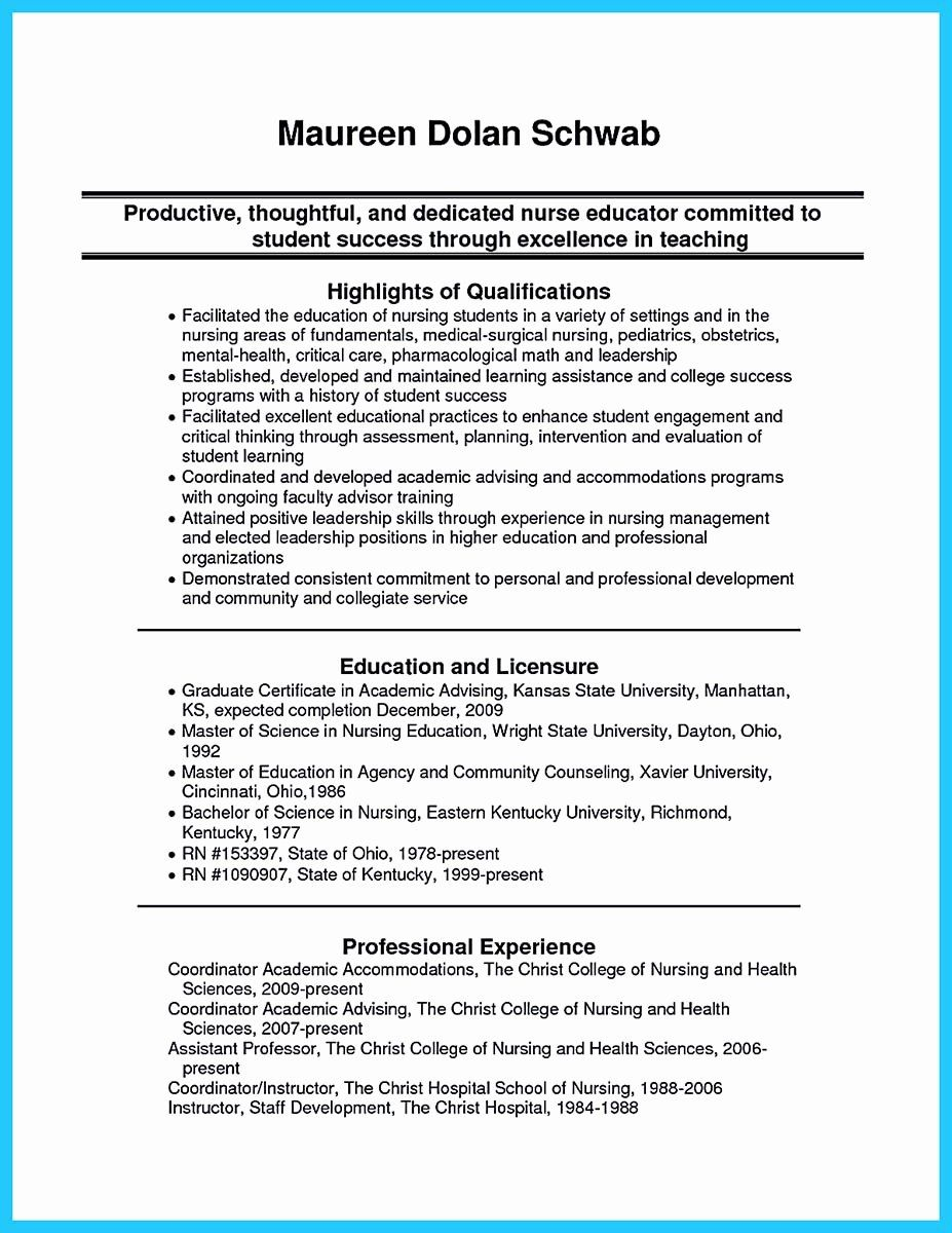 Critical Care Rn Resume Lovely High Quality Critical Care