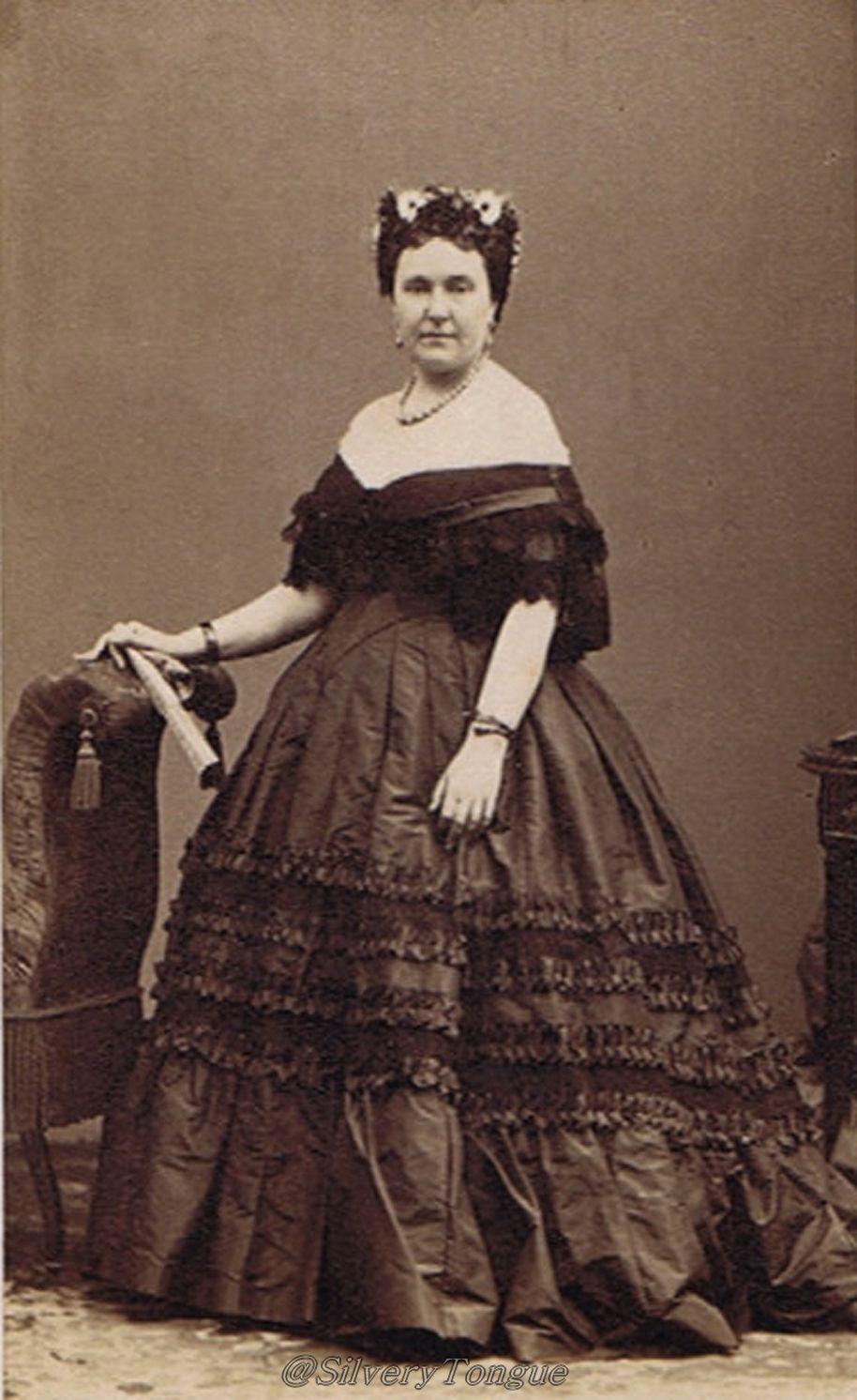 1860 Princess Mathilde Carte De Visite By Disdri