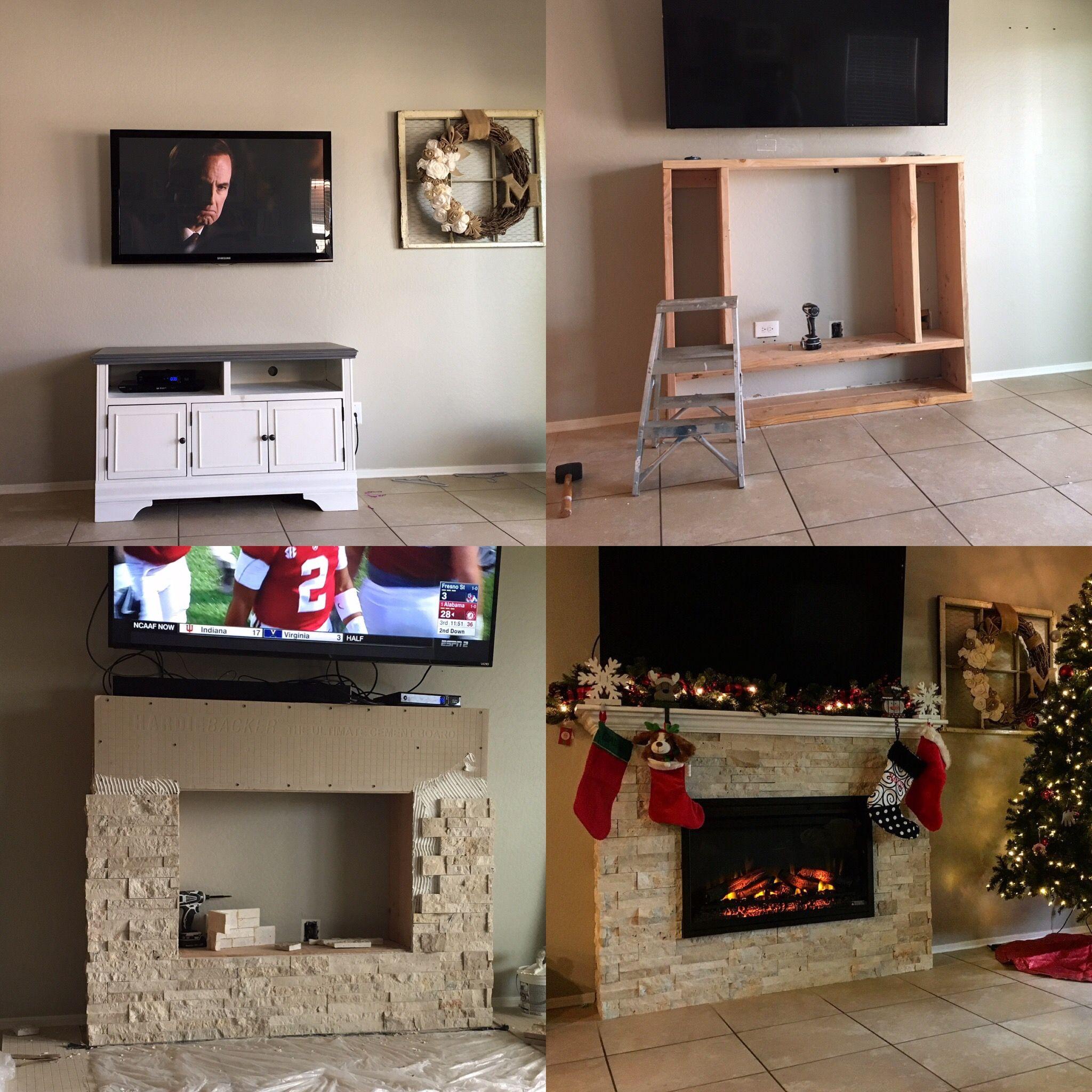 Diy Electric Fireplace Diy Fireplace Build A Fireplace Cottage