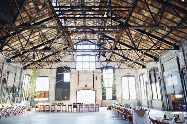 Basilica Hudson Industrial Chic WeddingsEvent