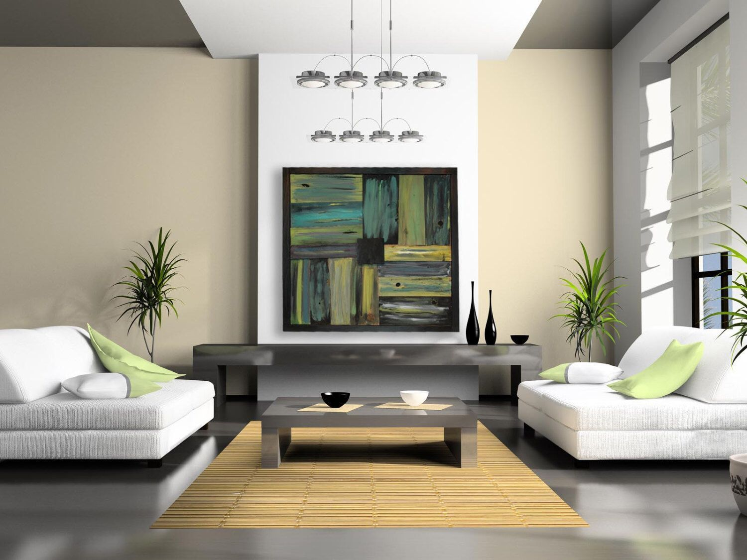 Wood wall art reclaimed wood large abstract painted wood