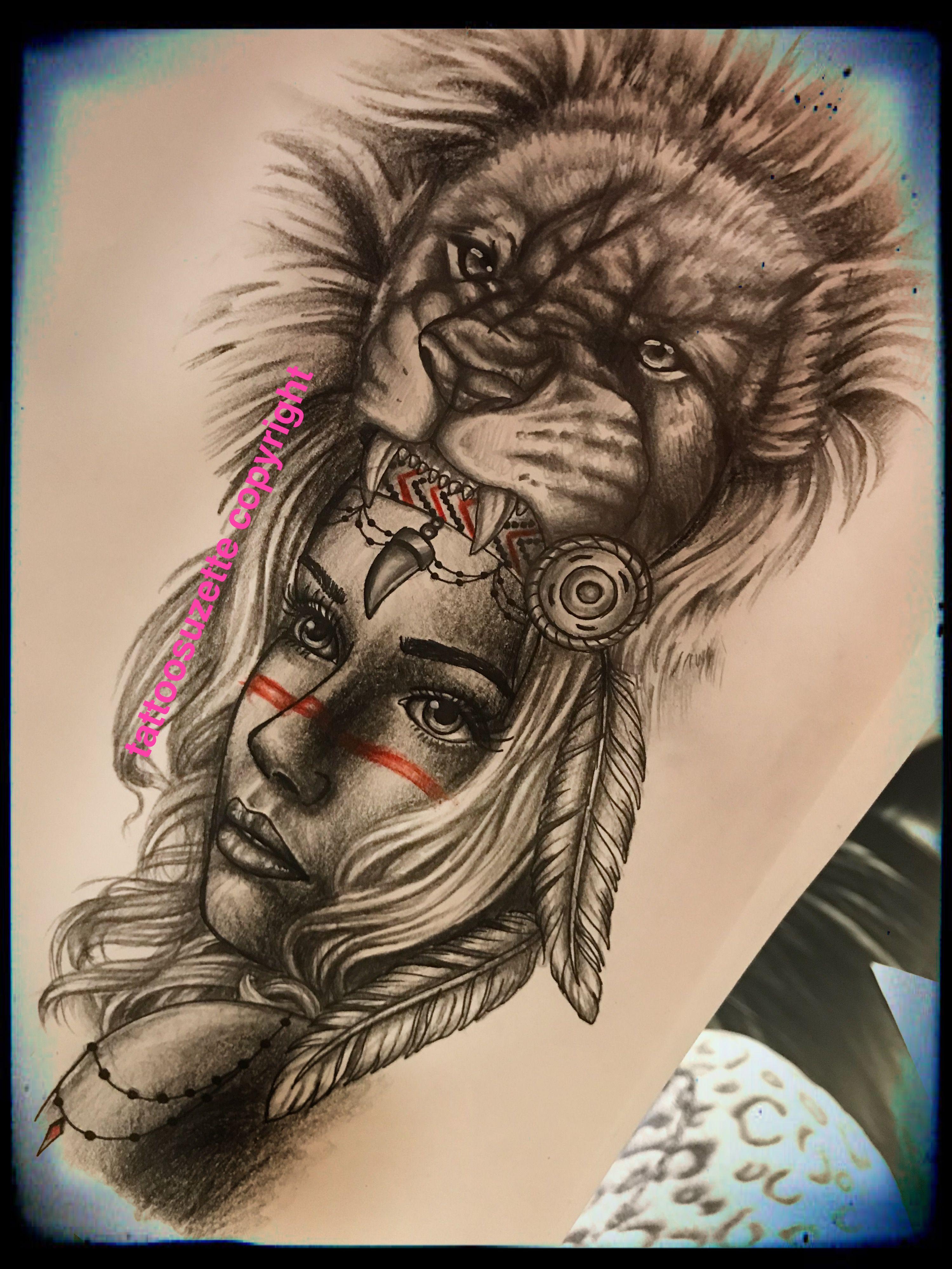 Lion Tattoo Design Tattoo Tattoos Tattoodrawing border=