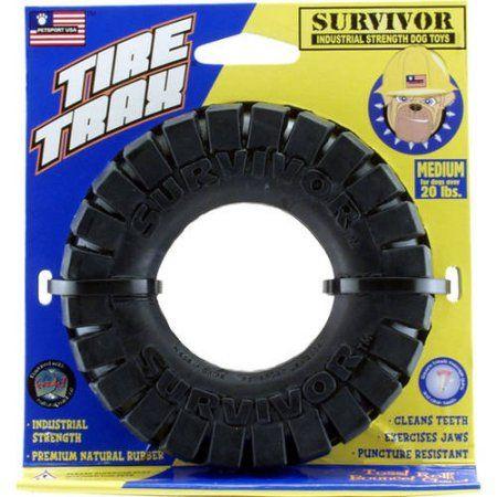 400003 Survivor Tire Trax 6 Inch In 2019 Pitbull Toys Dog Toys