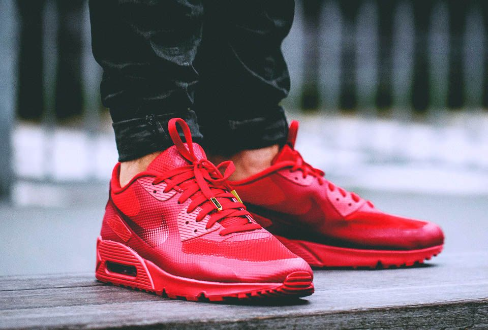 nike air max 90 id university red color