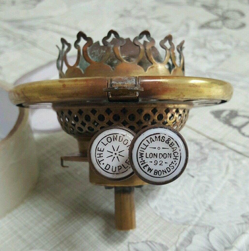Regent antiques lights antique victorian oil lamp c 1860 - Antique Oil Lamps