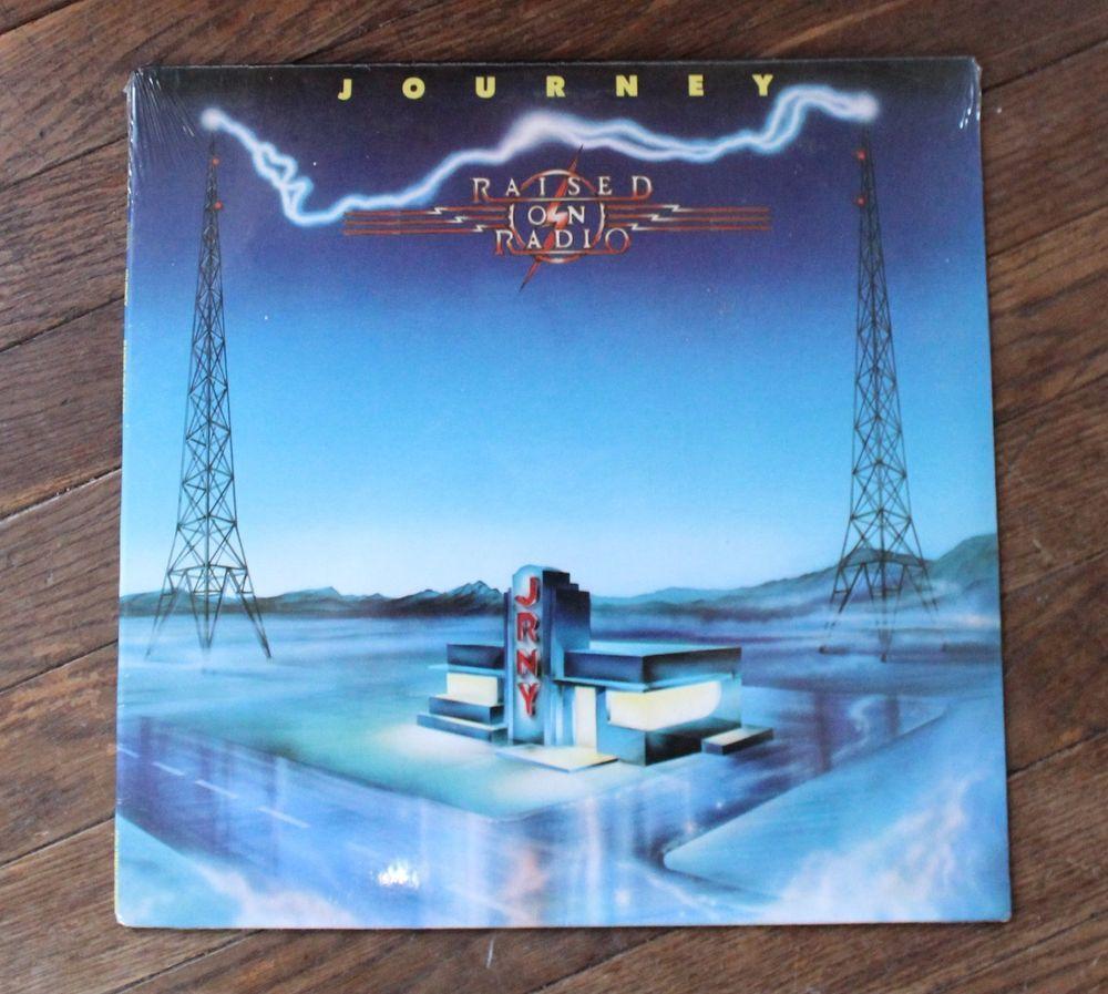 Journey Raised On Radio Lp Vnyl Record Mastered At Masterdisk Sealed Free Ship Journey Radio Master