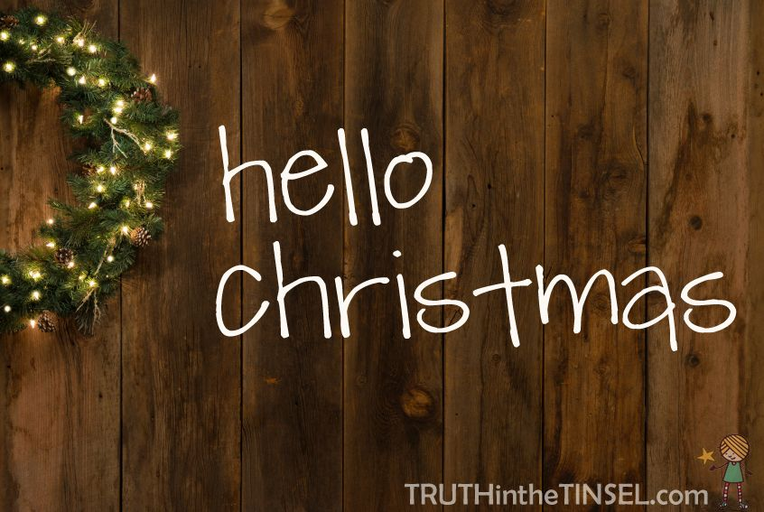 Hello Christmas! | Baby, it's cold outside... | Pinterest