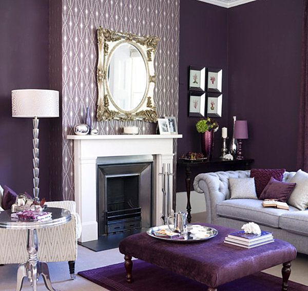 dark purple furniture. Visions Of Violet: The Power Purple Furniture Dark D