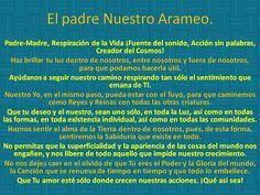 Version Original En Arameo Del Padre Nuestro Imagenes Buscar Con Google Ser Positivo Frases Oraciones Salmos De Proteccion