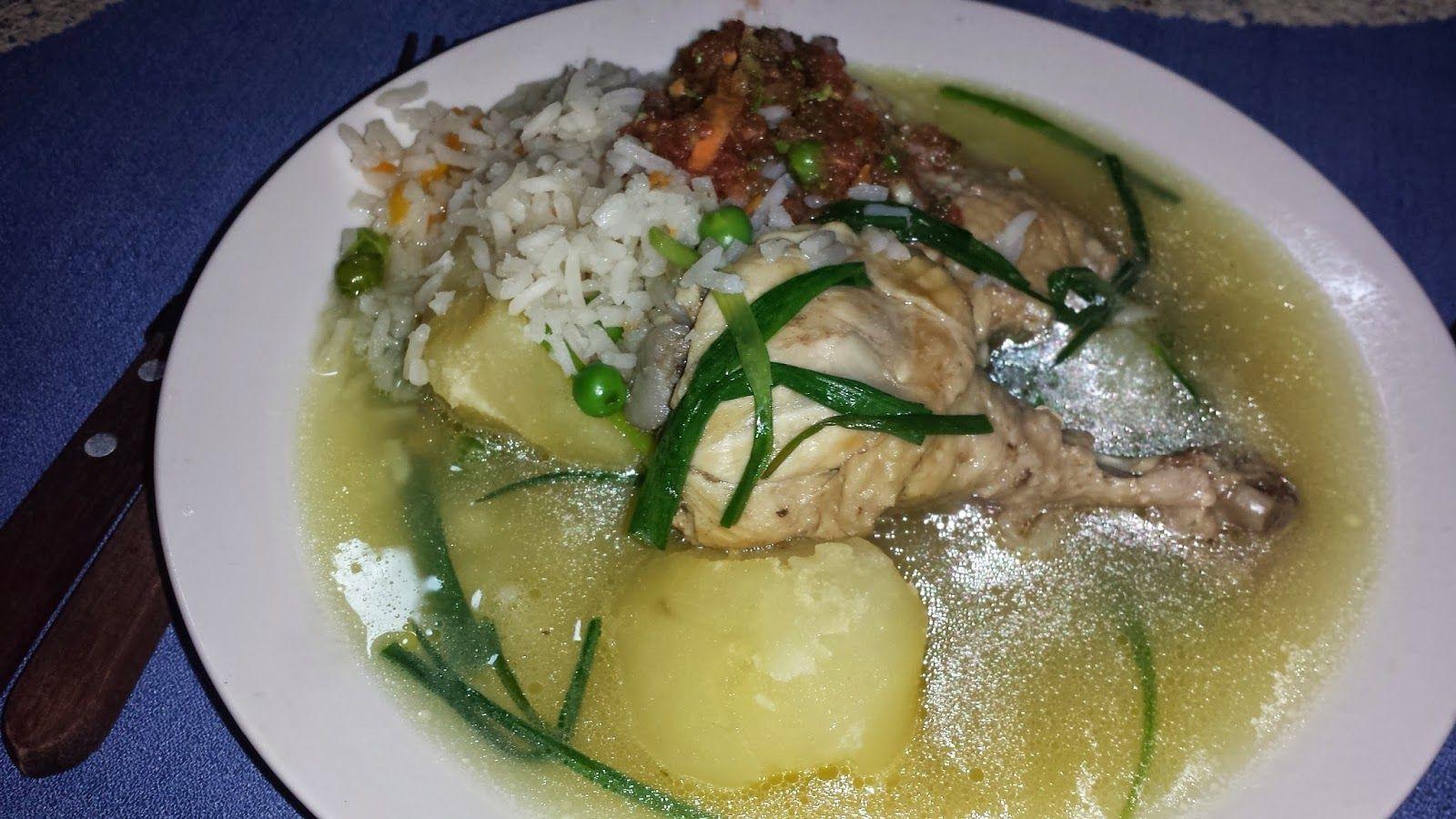 Cocina Boliviana Pollo Al Horno