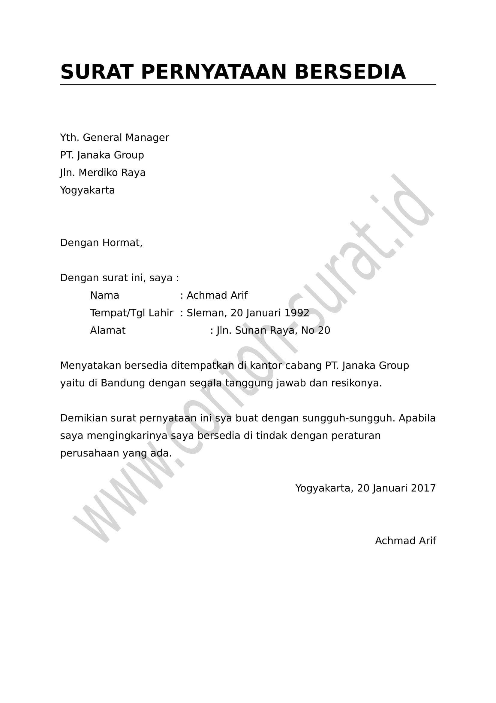 Contoh Surat Perjanjian Tulis Tangan Surat Tulisan Tulisan Tangan