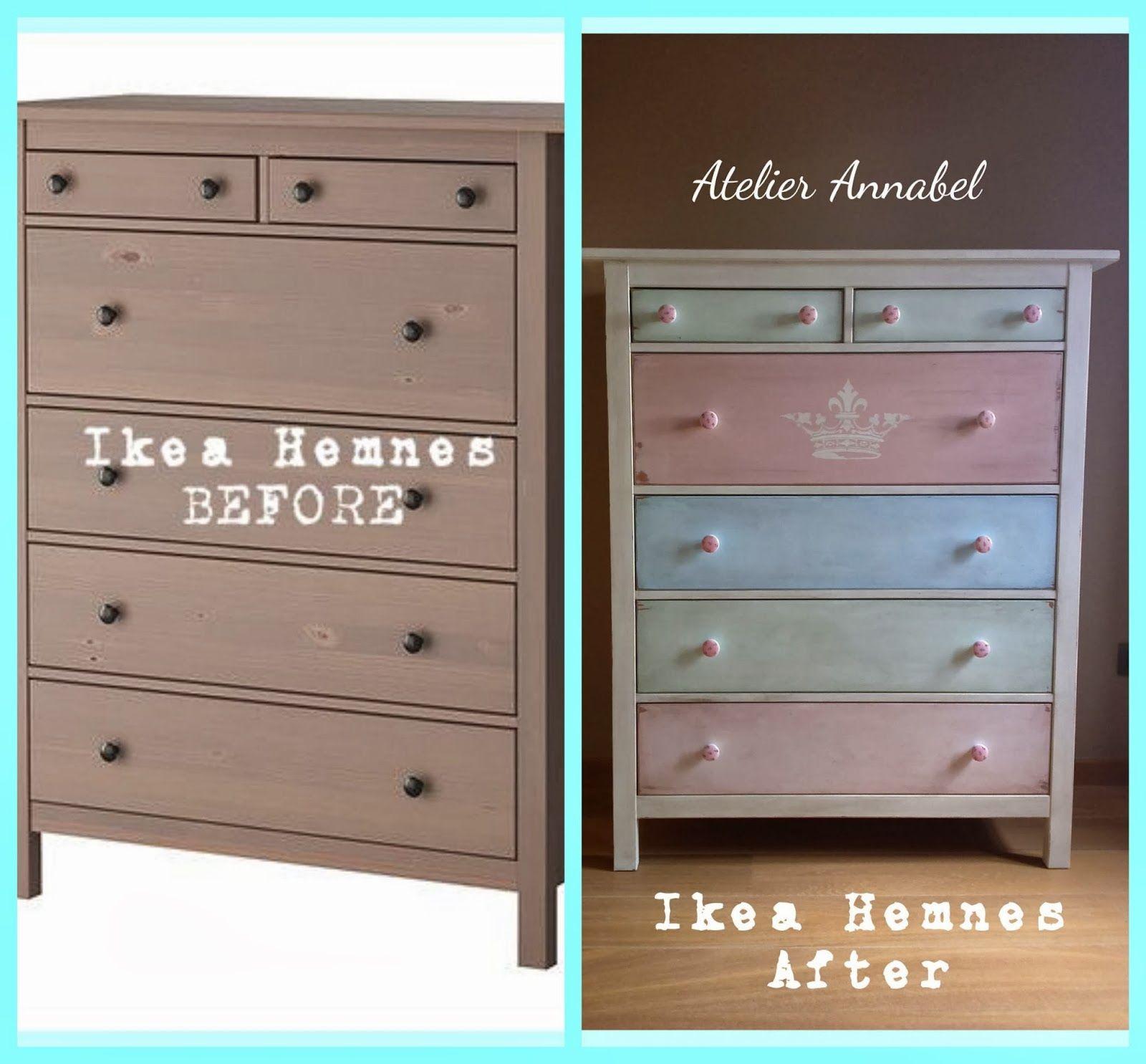 Antes y despu s de un mueble de ikea fant sticamente for Chalk paint muebles ikea