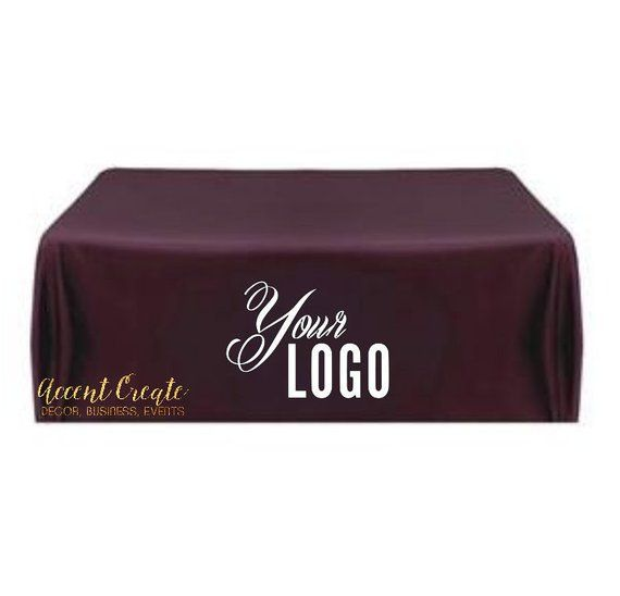 Awe Inspiring 6Ft Custom Tablecloth Personalized Table Cloth Logo Home Remodeling Inspirations Cosmcuboardxyz