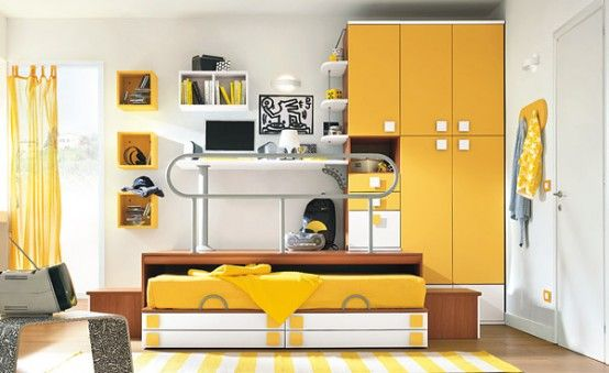 Kids Bedroom Yellow 50 lovely children bedroom design ideas | home-decor | pinterest