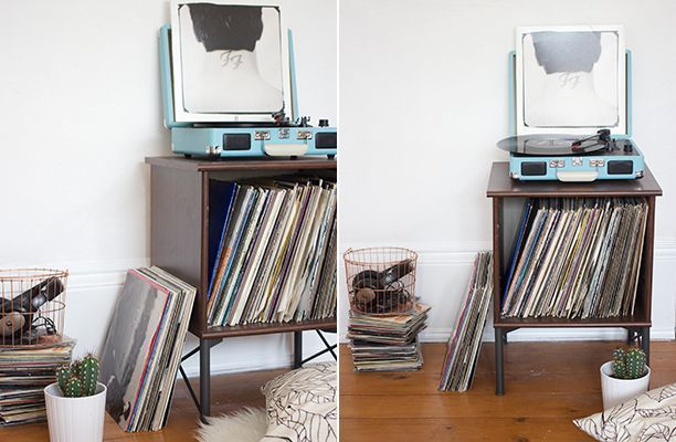Ikea Hack Record Player Stand Record Player Stand Record Player Stand Ikea Vinyl Record Furniture