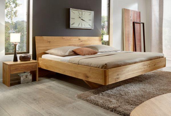 Bett VITA Wildeiche massiv Schlafzimmer Pinterest - schlafzimmer holz massiv