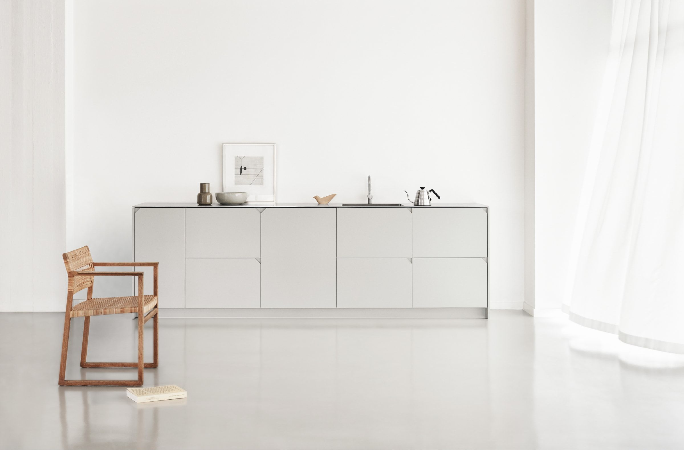 Degree By Cecilie Manz Is A Classic Aesthetics And Subtly Graphic Details Which Creates A Comfortably Mode Ikea New Kitchen Ikea Kitchen Interior Design Degree