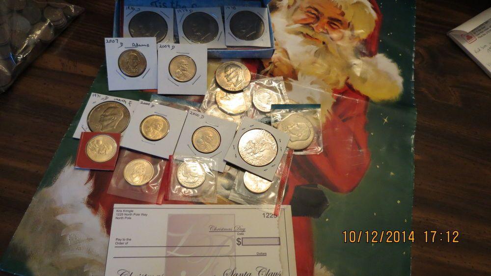 Three Each Modern American Dollars!!!
