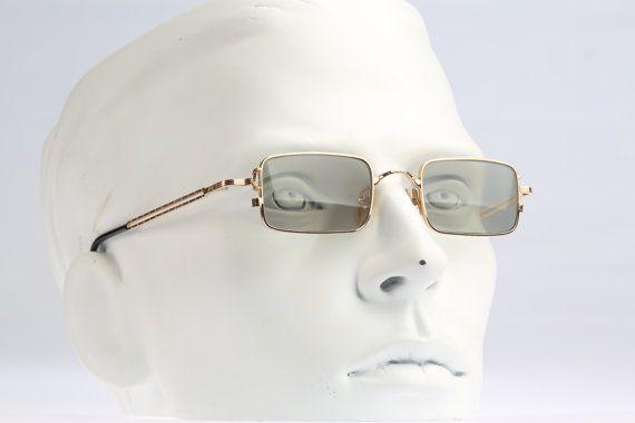 592c26b43 ... sunglasses / NOS / square designer eyewear. Jean Paul Gaultier 58-8101  / 90s Vintage by CarettaVintage on Etsy