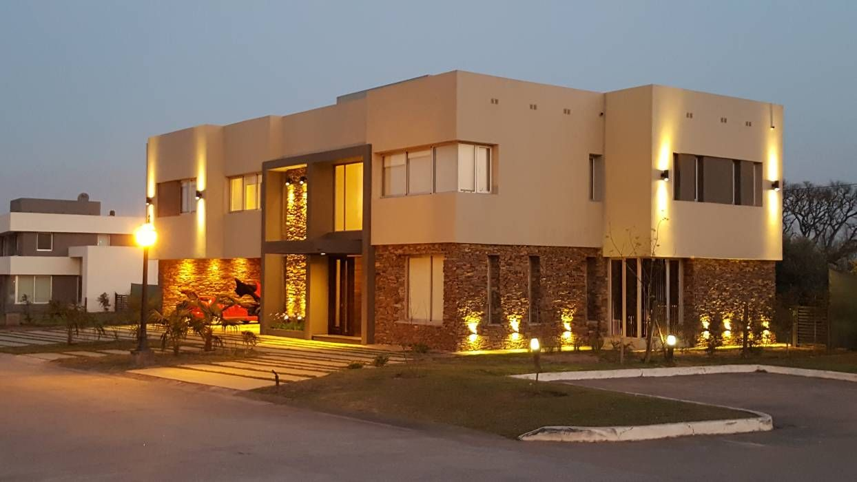 fotos de casas de estilo moderno casa los olivos